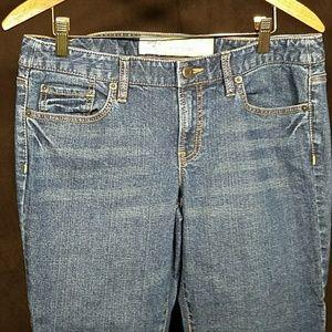 Ann Taylor Loft slim boot jeans size 8